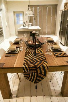 You cant beat the feeling of Christmas. Team HOA wishes you a very merry Christmas to you & yours! #AfricanPrint #InteriorDesign #Table #HomeDecor