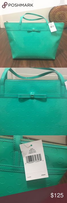 Kate Spade Sophie Tote Beautiful Kate Spade tote. Durable material with side pockets on the inside. Kate Spade Bags Totes