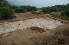 Enormous Roman Mosaic Found Under Farmer's Field - A giant poolside mosaic featuring intricate geometric patterns has been unearthed in southern Turkey, revealing the far-reaching influence of the Roman Empire at its peak.