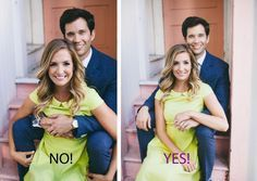 Couple Photo Do's & Don'ts: We show you the most common mistakes people make and how to correct them