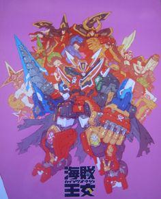tsundere6thranger: Lets keep the Toru Nakayama fun going with Kamen Rider and Gokaiger :D