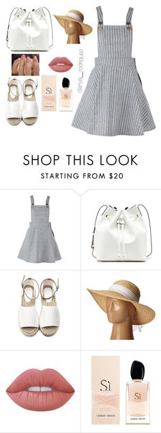 """""""Sin título #72"""" by sousou2578 on Polyvore featuring moda, Sole Society, Scala, Lime Crime y Armani Beauty"""