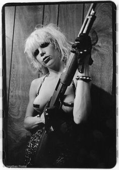 Wendy O Williams of the Plasmatics. ☀