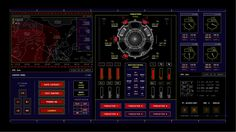 The Martian - UI Screen Graphics on Behance