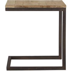 Palmer Serving End Table In Natural Oak (€315) ❤ liked on Polyvore featuring home, furniture, tables, accent tables, natural oak, oak side table, oak table, oak wood table, handcrafted furniture and oakwood furniture