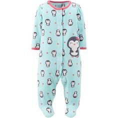 c4beb095e0 Child of Mine by Carter s - Newborn Baby Girl Snap Close Sleep n  Play -  Walmart.com