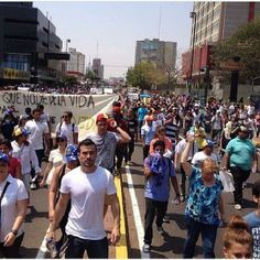 TODA VENEZUELA MARCHA. POR FAVOR DENLE PINT IT