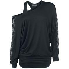 Gothicana by EMP  Langarmshirt  »Bat Shirt« | Jetzt bei EMP kaufen | Mehr Basics  Langarmshirts  online verfügbar ✓ Unschlagbar günstig!