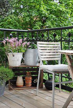 Balance by Nina: Att inreda en balkong.