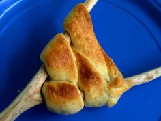Crescent rolls cooked over a campfire -- must make these on our next trip.