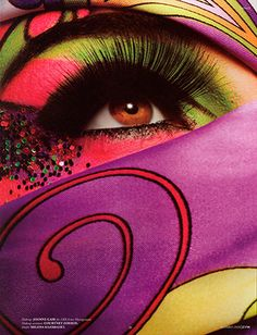Joanne gair | Make Up Art, How To Make, Everyday Eye Makeup, Top Photographers, Tropical Colors, Image Makers, Eye Art, Body Painting, Creative Art