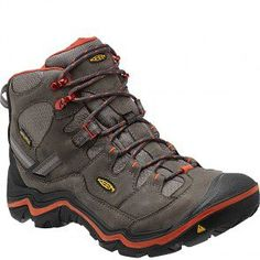 1011551 KEEN Men's Durand Mid WP Hiking Boots - Magnet www.bootbay.com