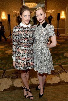 Carly Chaikin and Portia Doubleday Church Outfits, Church Clothes, Beautiful Celebrities, Beautiful People, Carly Chaikin, Badass Women, Dress Suits, Beauty Women, Highlights 2016