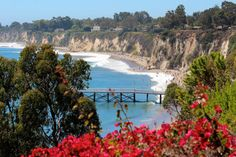 11 Warm-Weather Vacation Ideas for People Who Hate Winter  - HouseBeautiful.com -Malibu, California