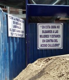 A group of construction workers in Lima wants women to know they'll be shown respect.