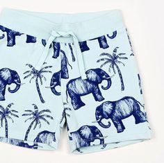 Pantalones cortos Elephant de Mini Rodini