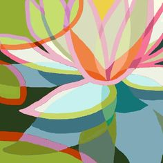 Seerosen stilisiert 1 | by lizaart