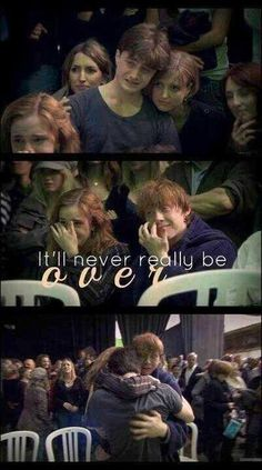 Oh my god I want to start crying right now! #Hpforlife.