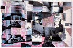 Collage from my Work Ethic series: Treg, counter waiter. by p0ps Harlow, via Flickr