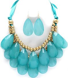 GORGEOUS ANTHROPOLOGIE INSPIRED STATEMENT SET!  $19.99 Shipped!