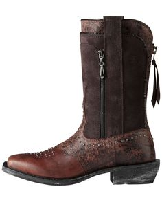701f83862b46 Ariat Women s Rodeobaby Envy Boot - El Paso Brown Wrangled