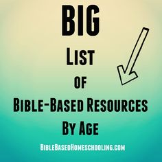 Bible based homeschooling resources