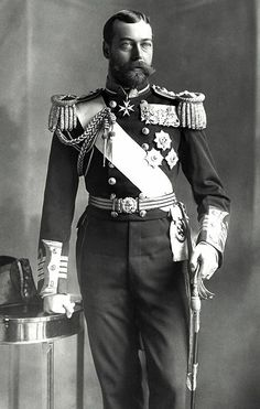 King George V when Duke of York. by Lafayette 1897 Roi George, King George V, Indira Ghandi, Papua Nova Guiné, Trinidad E Tobago, Alexandra Of Denmark, Queen Victoria Family, King Edward Vii, Royal King