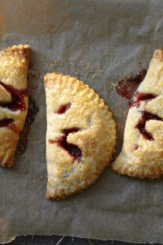 Strawberry or Apricot Hand Pies Recipe