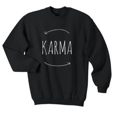 Karma SWEATER AND HOODIE