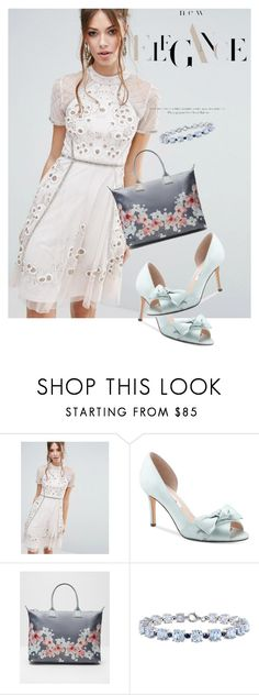 """""""dress"""" by masayuki4499 ❤ liked on Polyvore featuring Frock and Frill, Nina, Ted Baker and Miadora"""
