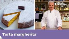 TORTA MARGHERITA di Iginio Massari - YouTube Torte Cake, International Recipes, Bon Appetit, Italian Recipes, Mousse, Food And Drink, Sweets, Make It Yourself, Cooking