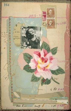 Ramblingrose #artjournal #collage