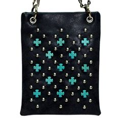 New Trending Bumbags: The Chic Bag - Boho Chic 4-way Bag - Studs and Turquoise Cross Grid (Black; 6x8x1in) - BUY 2 GET A 3rd BAG FREE!. The Chic Bag – Boho Chic 4-way Bag – Studs and Turquoise Cross Grid (Black; 6x8x1in) – BUY 2 GET A 3rd BAG FREE!   Special Offer: $39.95      388 Reviews The Chic Bag designs and manufactures innovative cross-body designer handbags releasing new and exciting styles every...