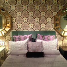 mirror, headboard, home decor bedroom, bedroom wallpaper