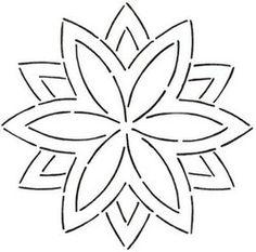 Continuous Line Quilting Stencils > 7  - 8  Block C.L. - Item: 7 ... : free quilt stencils - Adamdwight.com