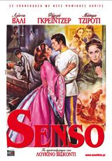 Senso του Λουκίνο Βισκόντι (1954) - myFILM.gr .:. Breaking entertainment news, movie reviews, sneak previews, film industry events and festivals, Cannes, Oscars, Hollywood awards. Featuring box office charts, Full HD movie trailers, screeners, film clips with subs, high-res Photos, large film database