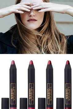 Velvety lips are a must this fall. Lipstick Queen Cuipid's Bow Pencil from Ulta Beauty works wonders.