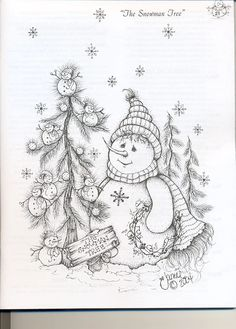 Between the vines Christmas time 3 - patricia rojas - Picasa Web Albums Painting Patterns, Fabric Painting, Tole Painting, Christmas Drawing, Christmas Paintings, Christmas Coloring Pages, Coloring Book Pages, Christmas Colors, Christmas Art