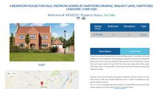 HFS4255 4 BEDROOM HOUSE FOR SALE Asking Price £779,995 Location REDROW HOMES AT HARTFORD GRANGE, WALNUT LANE, HARTFORD, CHESHIRE | CW8 1QN #Cheshire #4BedroomHouse #4Bedroom #FreeOnlineEstateAgency #FreeOnlineEstateAgent #Ownersellers #SellingYourHouseOnlineForFree #OnlineHousesForSale #FreePropertyValuation