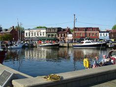 Annapolis Photos - Images of the State Capital of Maryland: Annapolis City Dock