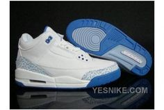 new product 63096 4f820 Authentic Cheap Air Jordan 3 High Quality white blue shoe for Authentic  Cheap Air Jordan retro 3 iii basketball shoe for sale