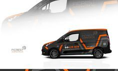 Design #33 by GeorgeLayers | Design a clean and elegant car wrap for 2015 Ford Transit Connect
