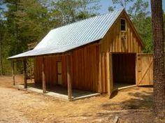 House Plans Shed Roof Garage Shed, Barn Garage, Garage Plans, Barn Plans, Shed Plans, House Plans, Backyard Barn, Backyard Sheds, Shed Design