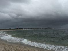 Wolken über #hoernum #sylt #nordsee #nordseeurlaub