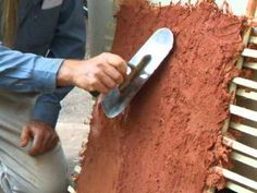 Natural Building How-To: Making Earthen Plaster (PART 2) - YouTube