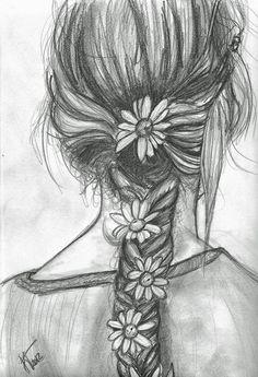 Flowers in Her Braid