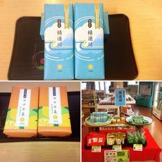 こんにちは~  今日は売店にある精進川羊羹・柚子羊羹が新しいパッケージになりました~‼     地元の和菓子屋さん上野製菓さんの手作り羊羹です!  みなさんお土産にいかがですか(^^) 詳しくは http://asagiri-kogen.com/73417/?p=5&fwType=pin