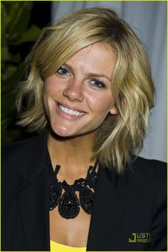 Brooklyn Decker layered bob.... If I ever get the guts to go short!