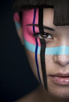 Face paint by maiko