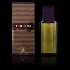 """Quorum es un pronombre relativo en latín que significa """"de los cuales"""". En castellano hace referencia a una marca de perfume de la casa Puig."""